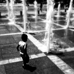 Boy in fountain from #instawalksj - Keepsy