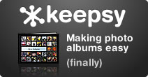 Keepsy: Photo albums made easy
